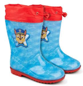 Paw Patrol Marshall Gummistiefel, Regenstiefel, für Jungen in blau, wasserfest