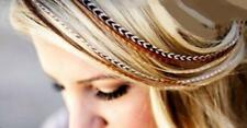 9 -12 inch Long Beautiful Natural Beige & Brown Feathers for Hair Extension Feat