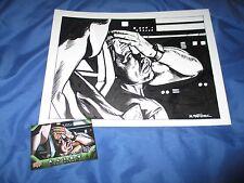ALIEN/ALIENS Original Art by Randy Martinez (Card/Anthology/Predator/AVP) BISHOP