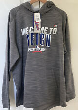 Nwt Men's Majestic Cubs 2016 Authentic WeCame Reign Postseason Hoodie Gray - L