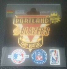 NBA Portland Trail Blazers Logo Pin Imprinted Products 1996 Limited to 10,000