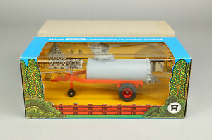 Hausser Elastolin 4443 Jauchewagen Anhänger Manure Cart OVP 1:32 Farm Toy boxed