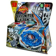 Screw Fox / Spiral Fox Metal Fury With Launcher Beyblade BB-116 - USA SELLER