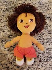 "DORA The EXPLORER 11"" stuffed beanbag plush Doll Ty Beanie Buddies 2006"