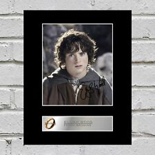 Elijah Wood, Frodo Baggins Signed Mounted Photo Display Lord of the Rings