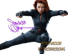 REPRINT - SCARLETT JOHANSON ~ Autographed signed photo