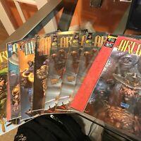 ARCANUM #1-5 #1/2 & VARIANT SET (VF/NM) BRANDON PETERSON Image Comics 1996