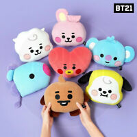 BTS BT21 Official Authentic Goods Baby Flat Face Cushion + Tracking Code