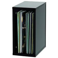 "Glorious Record Box 55 12"" Vinyl Record LP DJ High Quality Storage Box Black"