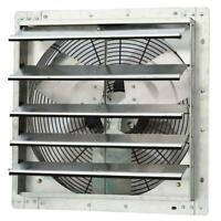 Electric Shutter Exhaust Fan 10 Quot Variable Speed 600 Cfm