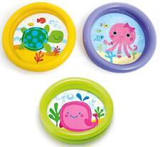 "Intex 24"" First Inflatable Baby Toddler Summer Garden Paddling Splash Pool Toy"