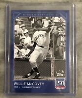 2019 Topps 150 Years of Baseball Card # 9 - Willie McCovey - Rookie Campaigns