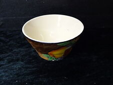 H&K Tunstall Hand Painted Fruiot Pattern Sugar Bowl. Mark 1933-1942