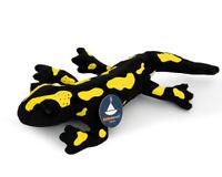 Stofftier Feuersalamander, Molch, Salamander Plüschtier, Kuscheltier (L. 22 cm)