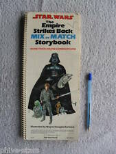 Star Wars The Empire Strikes Back Mix or Match Storybook 1980 USA Random book