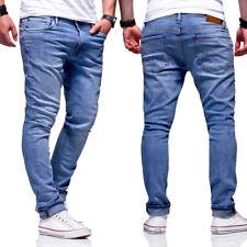 Jack & Jones Jeans Hose GLENN FELIX  Röhrenjeans Slim Fit Chinohose Hellblau NEU