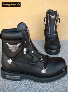 Harley Davidson Boots Brake Light schwarz Kult Bikerboots Gr. 42 bis 46