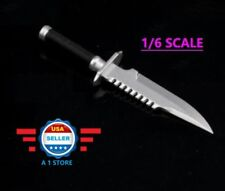 1/6 scale Military Knife for Hot Toys Phicen Soldier DRAGON 12''Action Figure