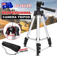 Portable Camera Tripod Travel Stand Holder For Mobile iPhone Samsung Nikon Canon