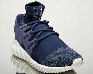 adidas Originals Tubular Doom Primeknit PK sneakers NEW dark blue BB2393