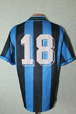 Inter Milan Italy Football Shirt Jersey Maglia Soccer 1994 1995 Home Size L #18
