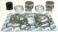 WSM Kawasaki 750 Brute Force Complete Top End Rebuild Kit 54-258-14 - 1mm OVER