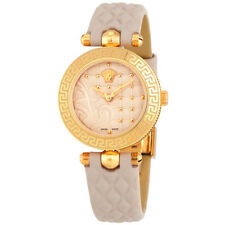 Versace Vanitas Cream Enamel Dial Ladies Watch VQM04 0015