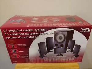 Cyber Acoustics 5.1 CA-5150E Computer/Home Theater Speakers System