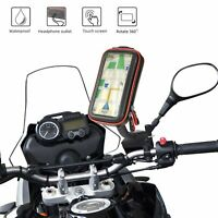 Motorcycle Phone Mount Case Motorbike GPS Holder Waterproof Handlebar Bag