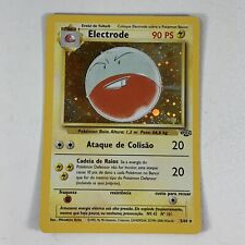 Electrode Holo Pokemon Card Original Jungle Unlimited 2/64 PORTUGUESE VERY RARE