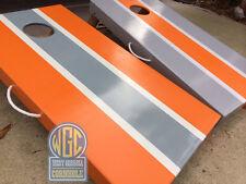 Classic Stripe Custom Cornhole Set