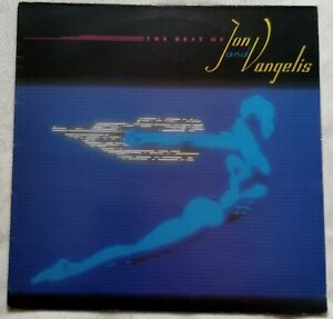 """Jon & Vangelis - The Best Of Jon & Vangelis - 12"""" Vinyl Album - 1984"""