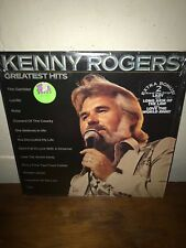 KENNY ROGERS LP greatest hits NM vinyl record SHRINK country HYPE STICKER EX!