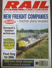 RAIL Magazine Number 218 January 19 to February 1 1994