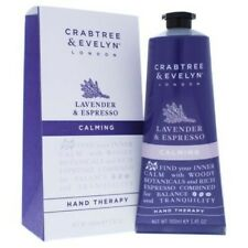 Crabtree & Evelyn Calming Hand Therapy Lavender and Espresso 3.45 oz. New!