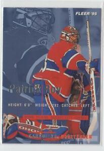 1994-95 Fleer #107  Patrick Roy