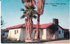 "Palm Springs CA ""Eddie Cantor's Palm Springs Home"" Postcard California"