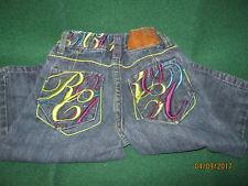 ROCAWEAR Baby Boys JEANS Size 18 mo DARK Blue  Cotton / Spandex