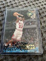 1995 Topps Stadium Club #1 Michael Jordan Chicago Bulls Basketball🔥HOF 🔥GOAT