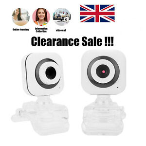 Full HD 1080P Webcam USB AutoFocus Web Camera With Microphone For PC Laptop UK