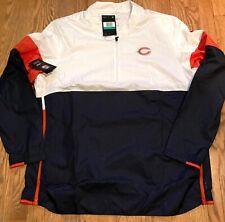 Men's Chicago Bears Nike NFL Dri-Fit Repel 1/2 Zip Jacket Large AO4228-100
