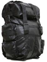 Motorcycle Waterproof Cruiser PU Leather Sissy T Bar Travel Biker Luggage Set