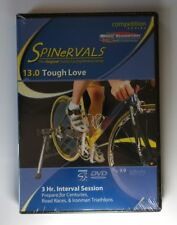 SPINERVALS 13.0 TOUGH LOVE INDOOR CYCLING WORKOUT  COMPETITION SERIES NEW DVD