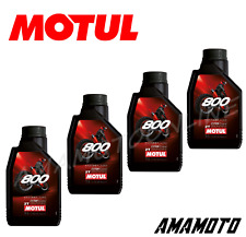 OLIO MOTUL 800 FL ROAD RACING 2 TEMPI 100 % SINTETICO X 4 LITRI