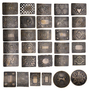 HOMME Ceinture Kilt Écossais Boucles - Celtique Modèles Boucles Antique
