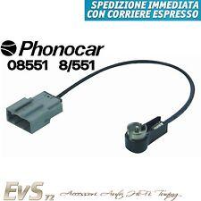 Phonocar 08551 Adattatore Cavo Antenna Amplificato x Auto Nissan dal 2007 in poi