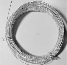 SOLID 925 Sterling Silver Twisted Wire 22 Gauge Per 2 Foot length