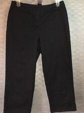 Requirements Petite Stretch Black Capris Shorts Pants Women's 10P
