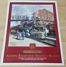 Smoke, Cinders and Pride Altoona 18x14 Poster Print  J Craig Thorpe Art  NIP