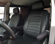 VW T5 /& T6 TRANSPORTER CARAVELLE Maß Schonbezüge Sitzbezüge 1+1 Kunstleder D102